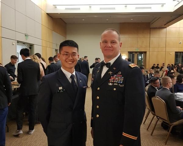 중앙대 ROTC 교환학생 프로그램 참가자 모습